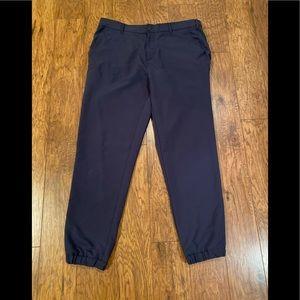 DKNY Men's Jogger Dress Pant Navy Sz XXL
